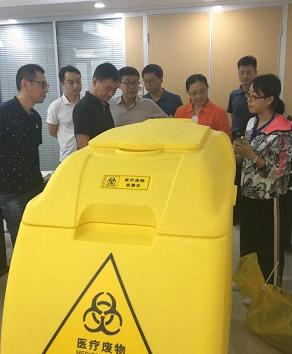 陕西蒲城部署安装医疗废物智能收集车